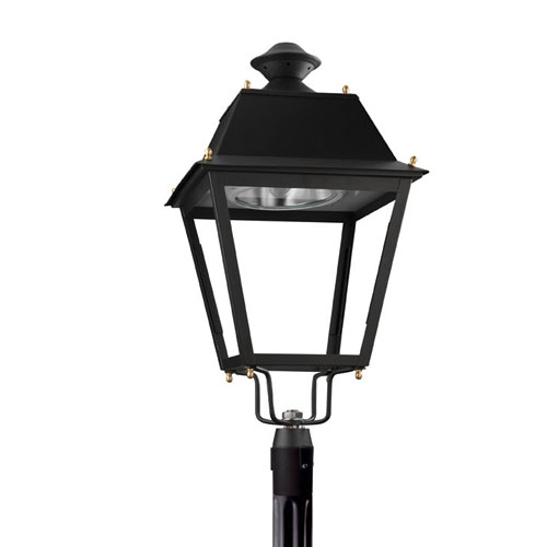 Andalucía Header Streetlight 1 x E40 HS 100W (VSAP) 2N Black forja acabado al horno
