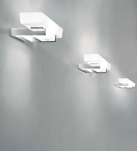 Brick P Wall Lamp 1x200W R7s white