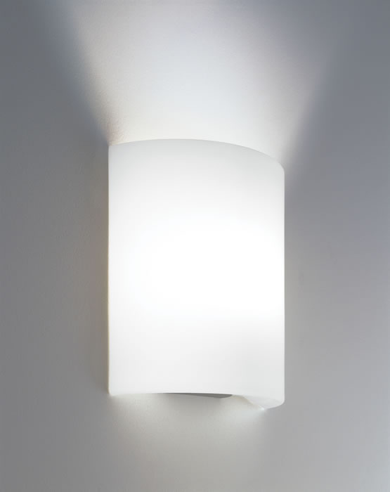 Celine P Wall Lamp 1x100W E27 white Satin