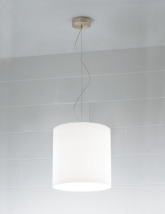 Celine S Pendant Lamp 1x100W E27 white Satin