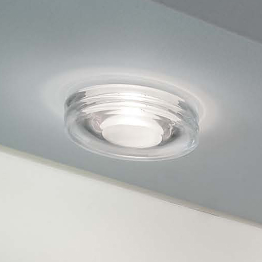 Disk Recessed Ceiling 1x50W GU 5.3 white Satin