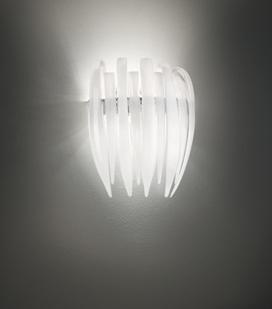 Dracena P60 Wall Lamp G24q3 2x26w ámbar chromed