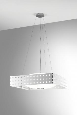 Endor S50 Pendant Lamp bco.sat E27 2x100w + 1x75w metal white