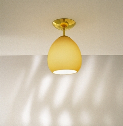 Golf PL ceiling lamp 1x150W E27 ámbar Satin