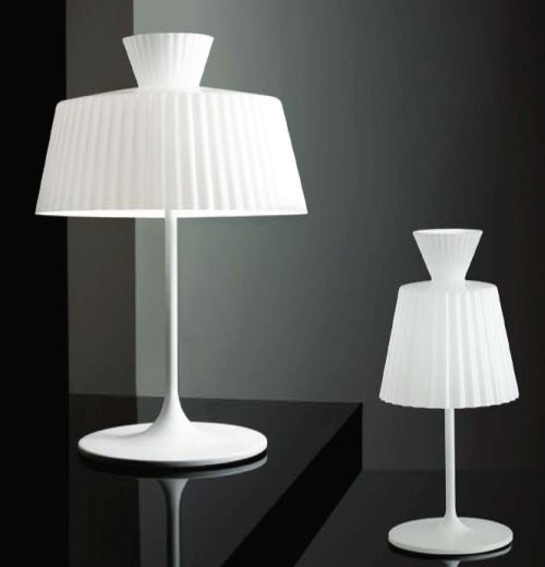 Katerina T22 Table Lamp 1x100W E27 white Shiny