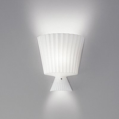 Katerina P22 Wall Lamp 1x100W E27 white Shiny