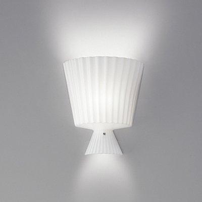Katerina P22 Wall Lamp 1x100W E27 white Shiny
