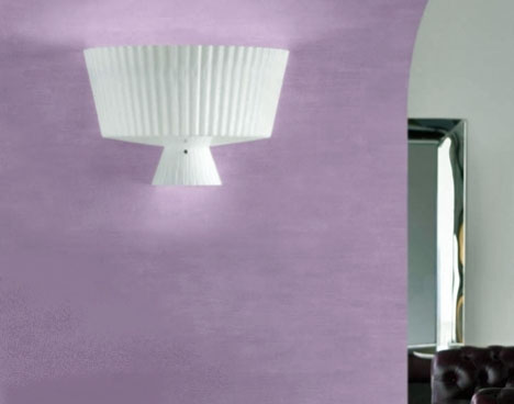 Katerina P40 Wall Lamp 2x100W E27 white Shiny