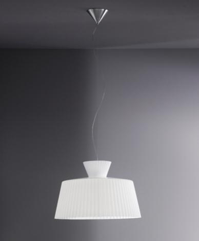 Katerina S40 Pendant Lamp white calido white Shiny