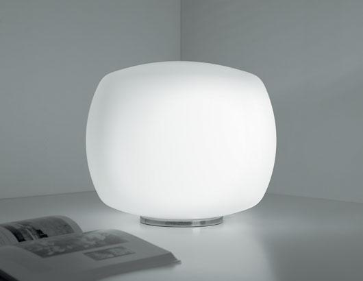Kube T3 Table Lamp 1x150W E27 white Satin