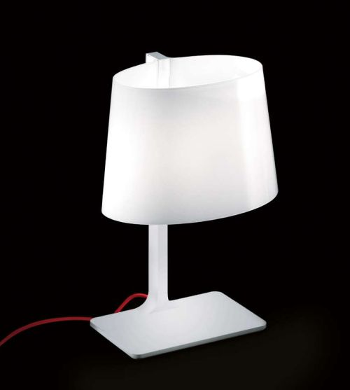 Marlowe T Table Lamp cable net white