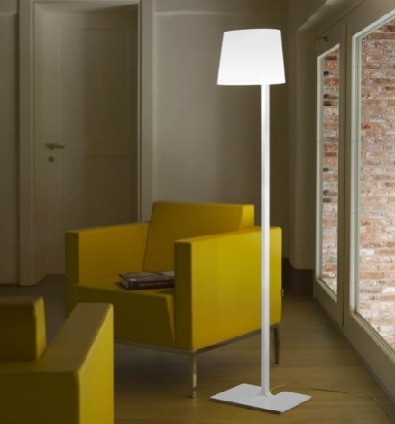 Marlowe TR lámpara of Floor Lamp lámpara of Floor Lamp cable Transparent white