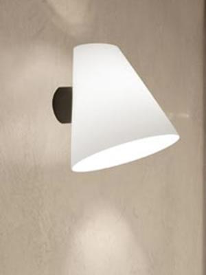 MICENE P Wall Lamp Bco sat.Black.E27 100w