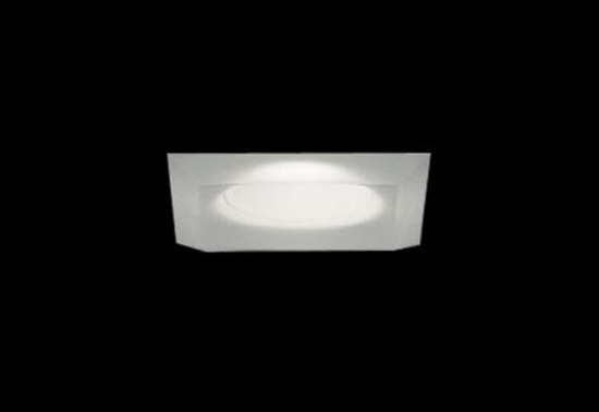 Mira 2 Recessed Ceiling 1x50W GU 10 white Satin