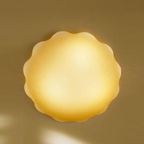 Nubia PP45 Wall lamp/ceiling lamp 3x40W E14 ámbar Satin
