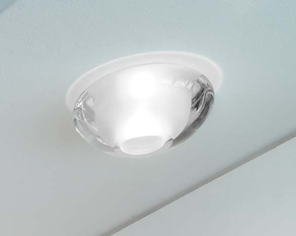 Ony Recessed Ceiling 1x50W GU5.3 white Satin