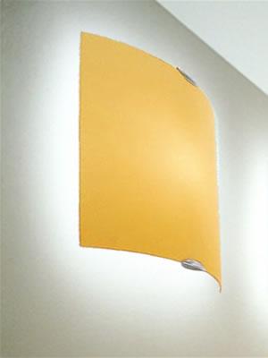 Selis PP30 Wall lamp/ceiling lamp 1x150W E27 ámbar Satin