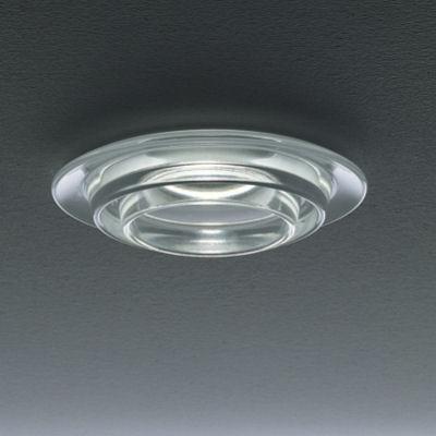Sun Recessed Ceiling 1x7W GU10 LED Glass