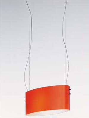 Vittoria S2 Pendant Lamp chromed 1x200W R7s net Satin