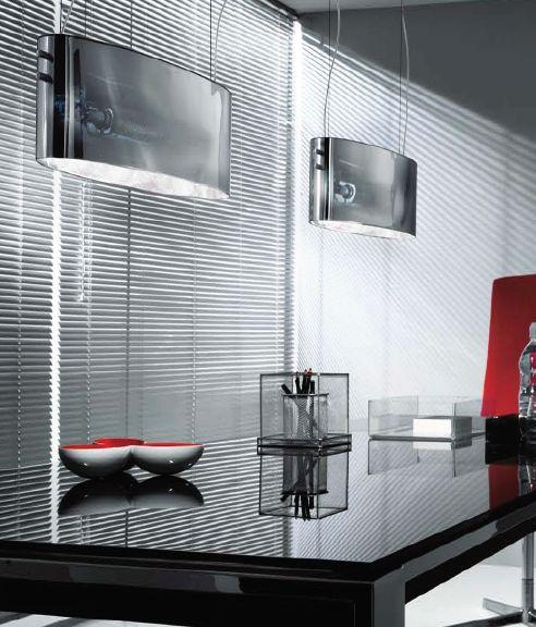 Vittoria S2/SP Pendant Lamp chromed 1x200W R7s Glass chromed