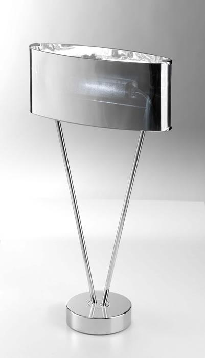 Vittoria T1/SP Table Lamp 1x150W R7s Glass chromed