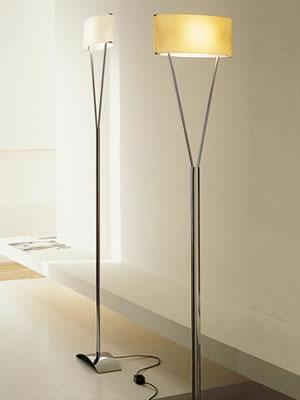 Vittoria TR lámpara of Floor Lamp lámpara of Floor Lamp 1x200W R7s white Satin