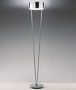 Vittoria TR1/SP lámpara of Floor Lamp 1x150W R7s Glass chromed