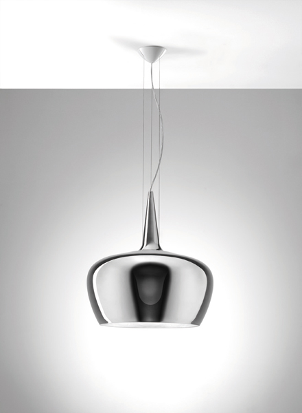 Witch Pendant Lamp chromed