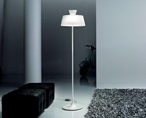 Katerina TR40 lámpara of Floor Lamp white Shiny