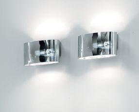 Vittoria P2/SP Wall Lamp 1x150W R7s Glass chromed