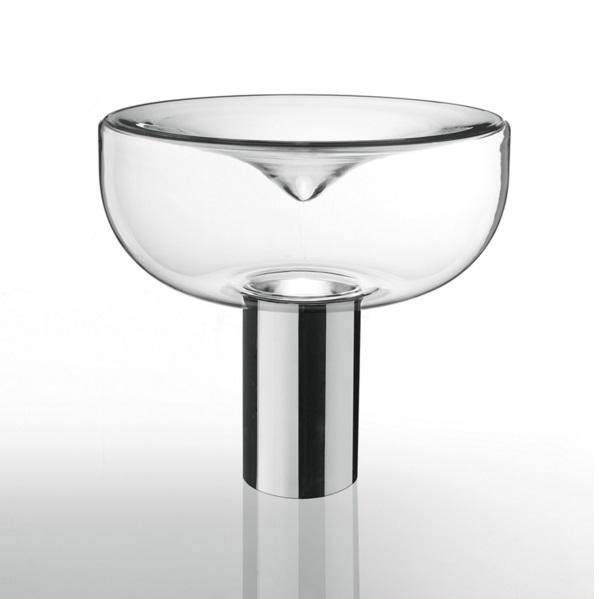 Aella Sobremesa 1968 Cristal.Cromado E27 150w
