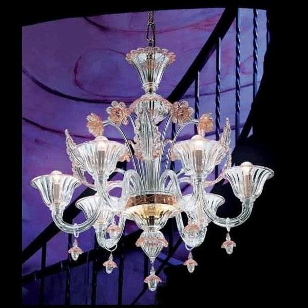 703 L6 lamp Pendant Lamp Glass Gold/Oro
