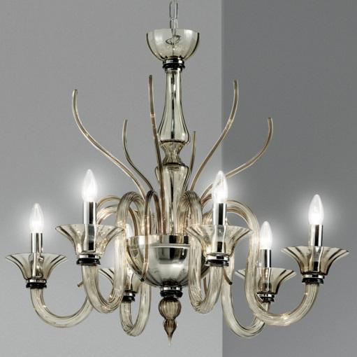 Belzebu L6 lamp Pendant Lamp Chrome white