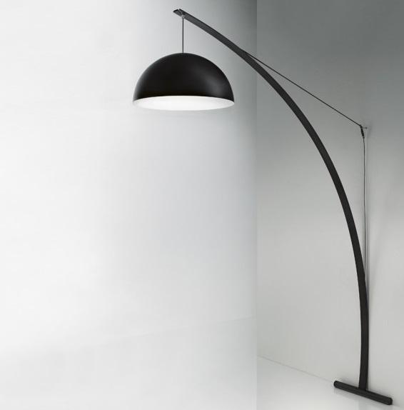 Bow TR lamp of Floor Lamp Black