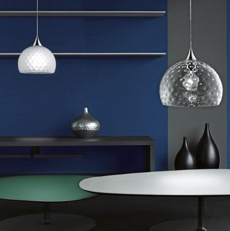 Derby 25 Pendant Lamp Transparent glass
