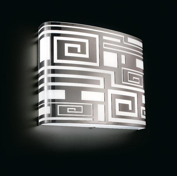 Eris 30 P PL Aplique/Plafón 2G11 platino