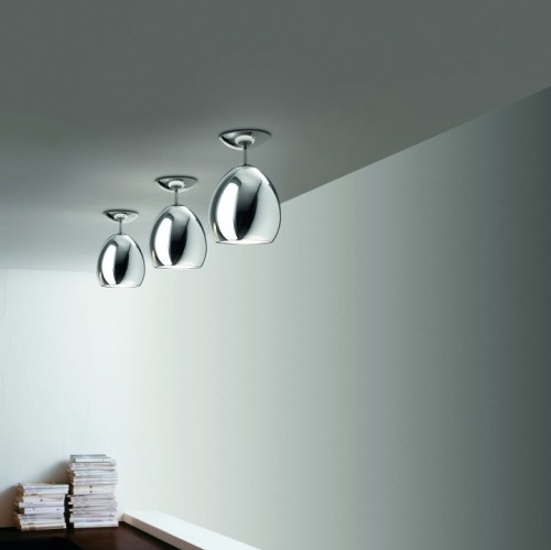 Golf PL/SP Wall lamp/Plafon E27 Glass chromed