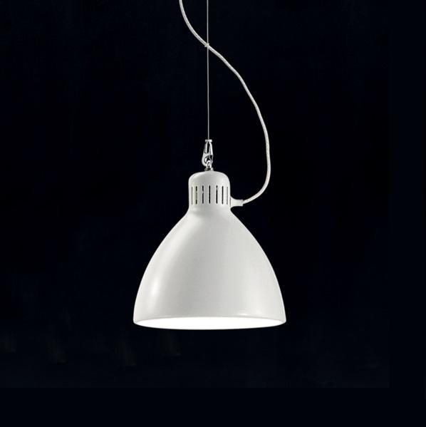 JJ S 22 Lámpara Colgante E27 blanco opaco
