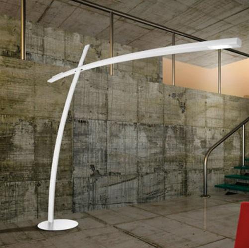 Katana TR Floor Lamp white opaque