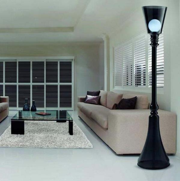 La Lumiere TR lámpara of Floor Lamp E27 white