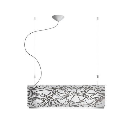 Laguna S75 lamp Pendant Lamp 4X24W G5 platinum