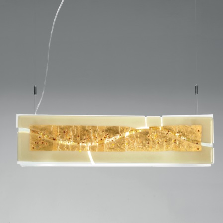 Laguna S75 lamp Pendant Lamp Channel 4X24W ambar