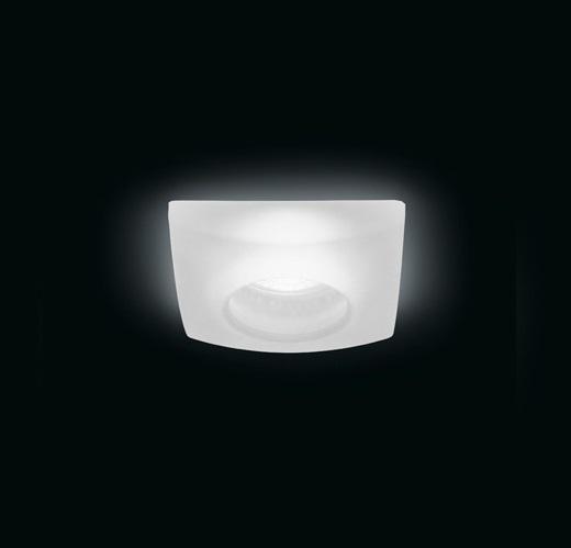 Quasar F Empotrable Cristal