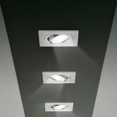 SD 902 Recessed GU5,3 Aluminium (adjustable)