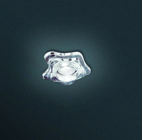 SD Baia F Recessed GU10 Glass Pulido T/LOCK