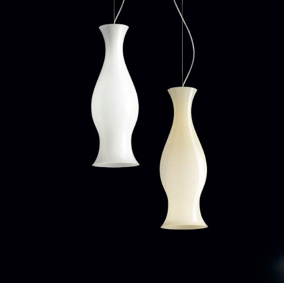 Spring S Lamp Pendant Lamp white Shiny E26 75W