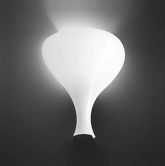 Summer P Wall Lamp white Shiny E26 100W