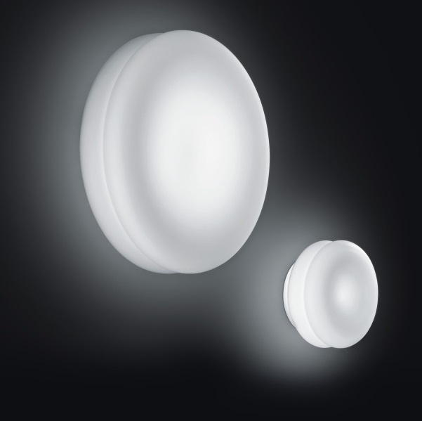 Wimpy 32 PP Wall lamp/Plafon LED Aluminium/white Satin