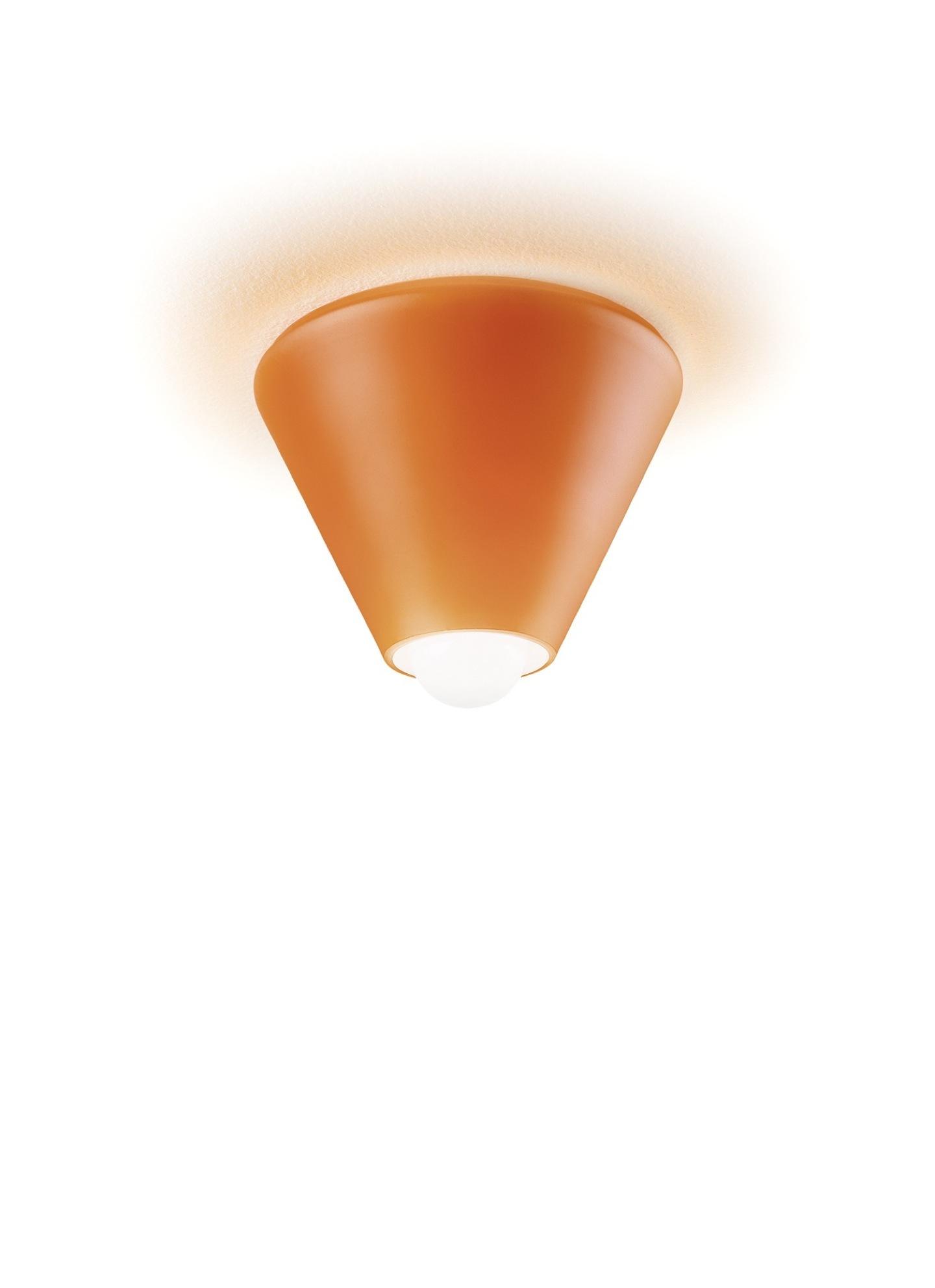 Blog Conic ceiling lamp Wall Light orange