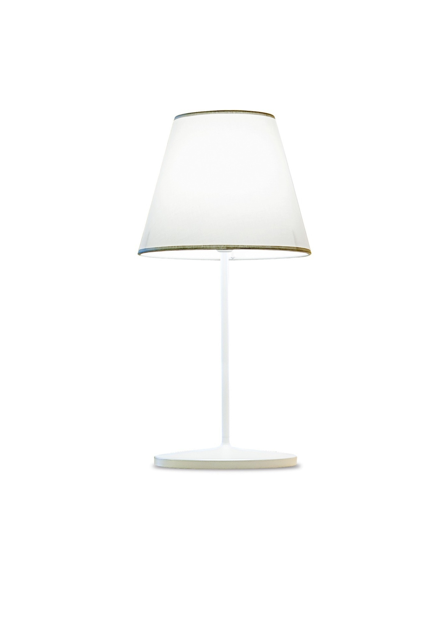 Cotonette of Table Lamp Bianco/Grigio